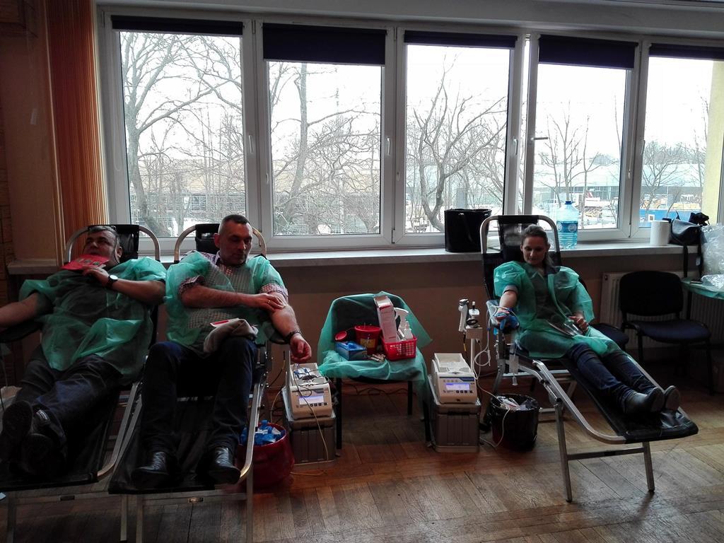 Mońki - oddawaliśmy krew 18 lutego 2018 roku