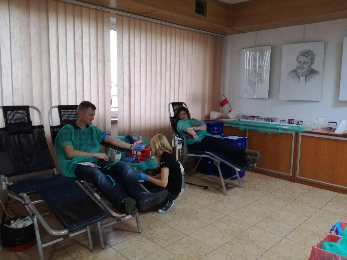 9 grudnia oddawaliśmy krew w Mońkach