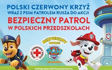 Psi Patrol iPCK ruszają do przedszkoli wcałej Polsce uczyć bezpiecznych zachowań!