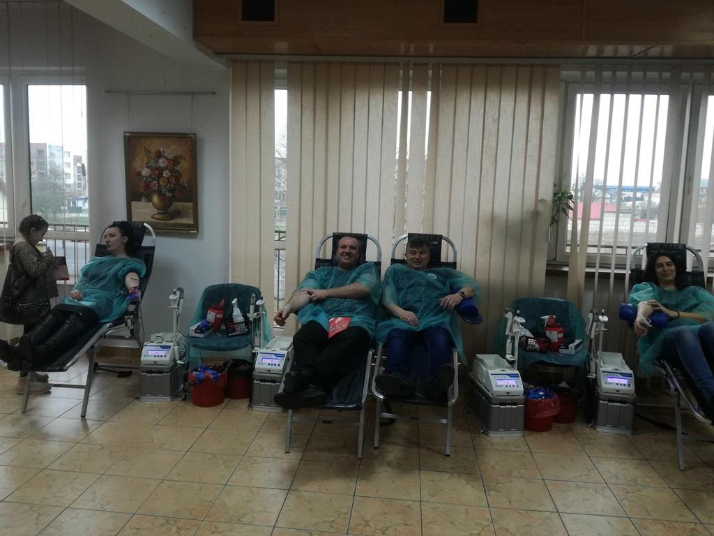 8 grudnia 2019 r. oddawaliśmy krew w Mońkach