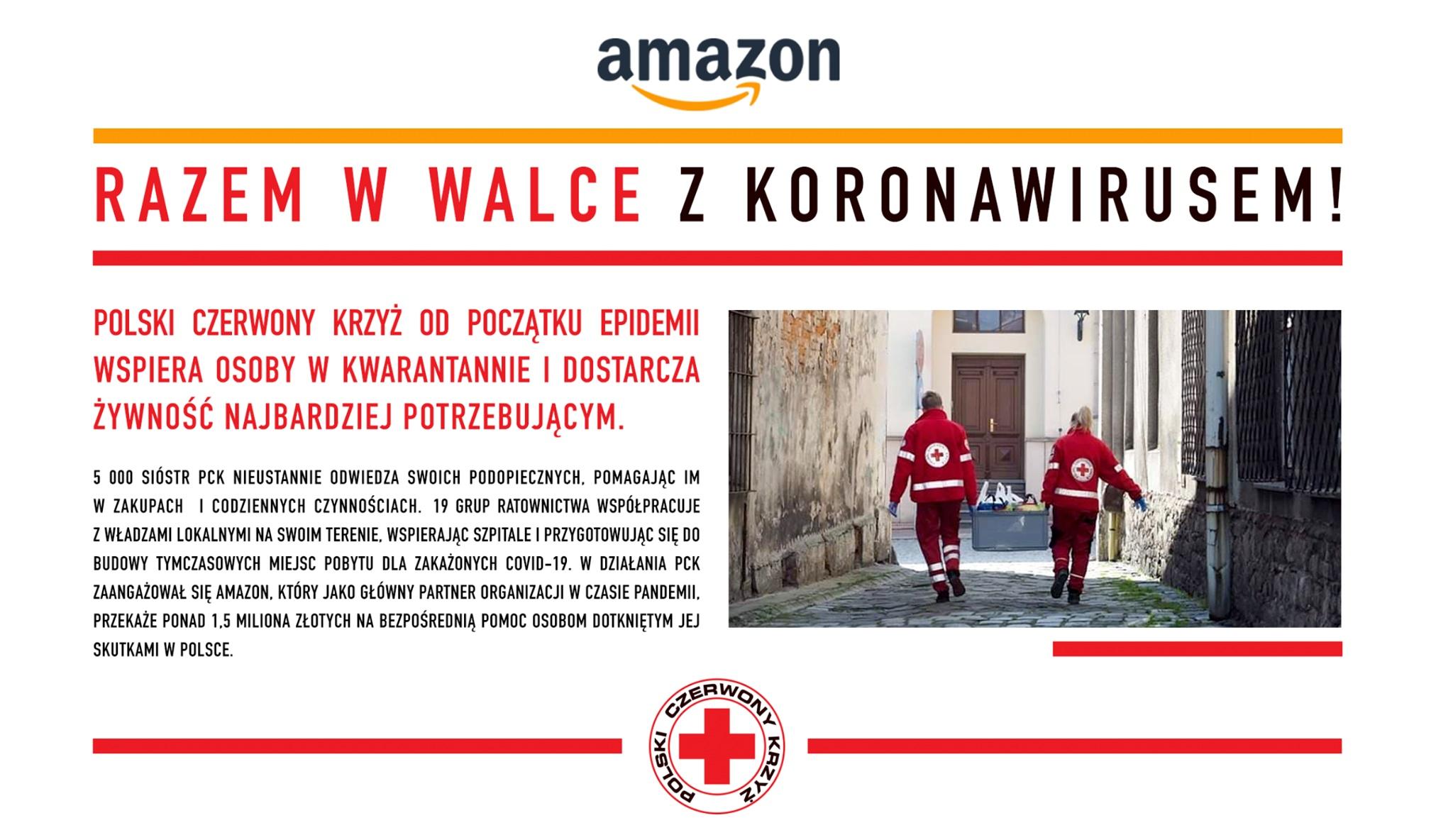 Amazon wspiera PCK
