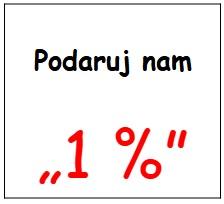 Podaruj nam 1%