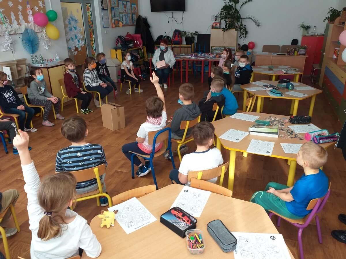 Dziel się Uśmiechem w Szkole Podstawowej Nr 7 w Łomży