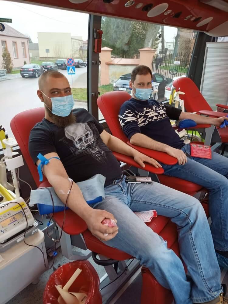 Akcja poboru krwi w Szczepankowie