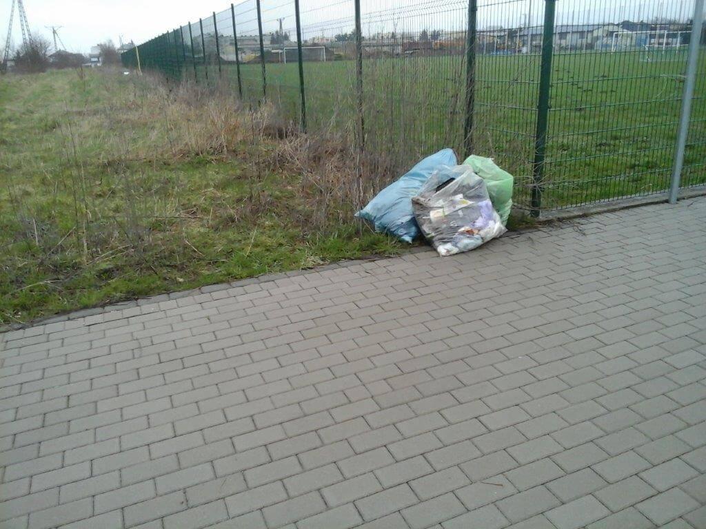 Sprzątnęliśmy ulicę Stadionową w Wysokiem Mazowieckiem