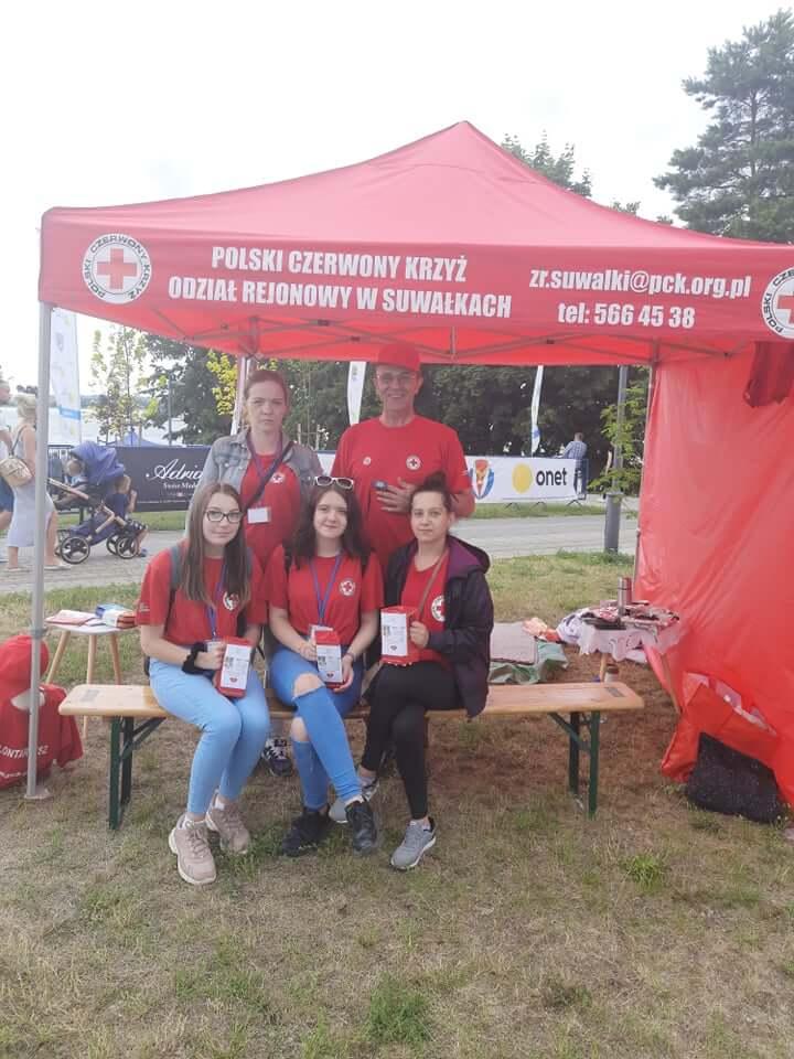 OR PCK w Suwałkach - pierwsza pomoc w Ełku