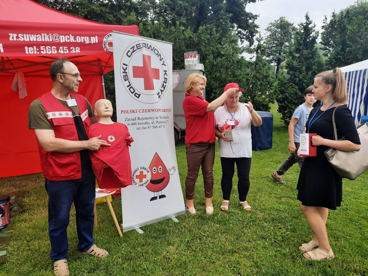 OR PCK w Suwałkach - uczyliśmy udzielania pierwszej pomocy mieszkańców Suwałk