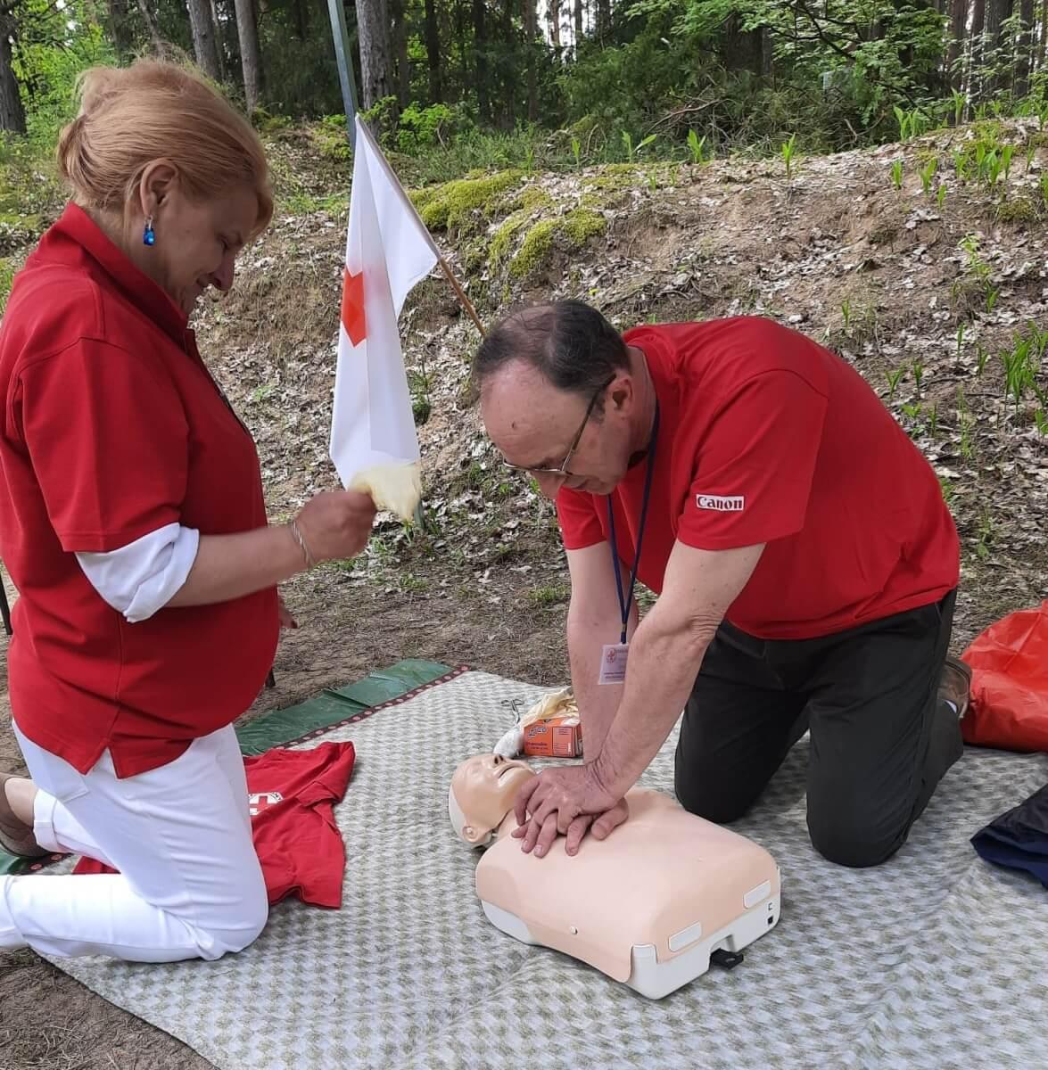 OR PCK w Suwałkach - pierwsza pomoc w Augustowie