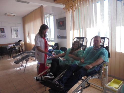 Pobór krwi w Monkach - 14.08.1026